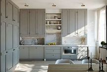 La cuisine / Ideas for our kitchen in France