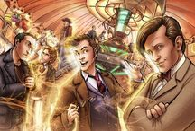 Doctor Who / *Doctor Who theme song goes on* Trust me... I'm the Doctor. / by Breena D'Auvrecher