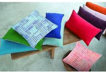 Decorative Pillows by Yves Delorme & Iosis Paris / Discover just how rich with color and detail a decorative pillow could appear...