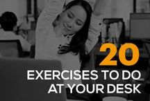 Exercises - Fast & Easy! / Type-A lifestyle? Busy Mom? We have you covered as we've collected fast, easy workouts to fit even the craziest schedule. Get inspired here!