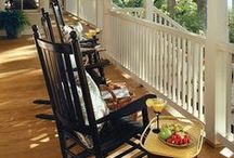 Porches and Patios / Southern Homes are KNOWN for their beautiful and functional porches. Let Compass AL put the rocking chairs out for you.