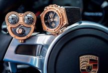 Watches / Luxury watch collection with different models for both genders - focus on swiss manufactured watches