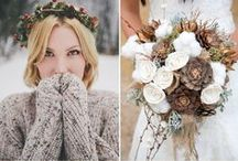 Fall/ Winter Wedding Favorites - FASHION / All things bridal for fall and winter
