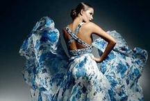 Something Blue / All things blue and beautiful….wedding dresses, sapphires, shoes, bags, gifts et al...