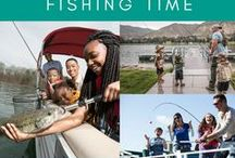 Family Fishing and Boating: Tips and Ideas / Don't miss out on the moments that really matter! Teach kids about #fishing and help them get their #FirstCatch