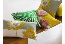 Love Decorative Pillows? / Yves Delorme offers a beautiful selection of decorative pillows, either assorted to our seasonal bed linens, or in themed designs in on-trend colors from Iosis, Paris.