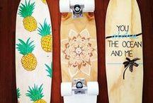 Penny/ Long/ Skate- Boards / El skate es como la vida, siempre puedes levantarte e intentar otro truco.  / by Daniela Panduro