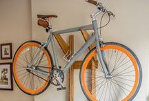 Hand Crafted Bike Racks / Artisan furniture for bicycle storage and display. Handcrafted in Colorado. Walnut, Bamboo, and Maple.