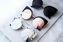 lunettes de soleil / all of the shades i ever wanted