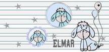 Esel Elmar / So schöne Werke sind gezaubert worden für die süßen Kleinen und auch für etwas Größere. Elmar Esel gibt es als Applikationsvorlage und Plotterdatei im Shop www.xaxelu.com