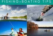 Seasonal Fishing and Boating / Find fishing and boating tips and #GetYourfishOn during #Summer, #Fall, #Winter and #Spring