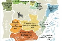 Maps and Illustrations - Iberia / by Sara Drake