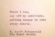 Literature quotes / A total book nerd, I also have goodreads (Gee Burgess)