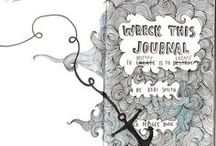 Wreck this journal / Wreck this journal, mess, idee