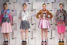 Seen on the catwalk! / fashion runways <3 <3 <3