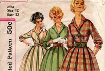 Vintage Sewing Patterns / Some fun vintage sewing patterns from days gone by.