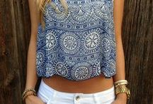 Crop Tops! / Our favorite crop top looks for summer 2015.