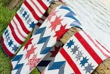 July 4th Crafting / Sewing and Craft ideas for July 4th.