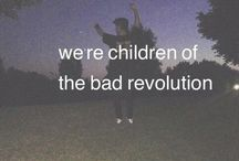 We are young / WE are YOUNG so...alcohol, cigarettes, drugs and suicide. PS Party, Party and PARTY