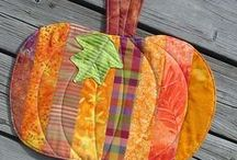 Fall Crafting / Autumn-inspired sewing, quilting, and craft projects!
