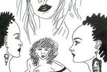 """Moje grafiki / Tablica przestawia moje grafiki z serii: """"Akt kobiety"""". Ta seria zawiera 8 grafik z tej serii."""