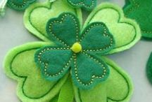 Saint Patrick's Day Quilts and Crafts / Our favorite sewing, quilts, and craft projects in celebration of Saint Patrick's Day!