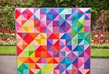 Rainbow Quilts / Rainbow-themed quilts!