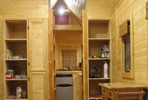 Tiny House / I want to compare floorplans, RVs vs trailers, and maximally efficient appliances so that I can still live large in 120 square feet. The secret to finding good appliances: search for stuff meant for RVs and boats. I hope other tiny home builders can benefit from the resources I put here! / by Katie