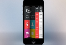 Mobile UI / Mobile user interface design forces innovation due its small scale.  / by Sprawl3