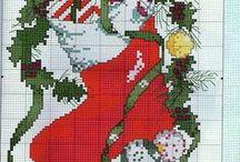 Cross Stitch - Christmas / Christmas cross stitch ideas & inspiration