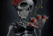Skulls/Catrinas / by Andres Henao