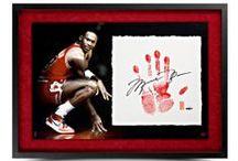 Sports Memorabilia- Basketball / Autographed Basketballs, Jerseys, Photos and more from Upper Deck EXCLUSIVE spokesmen Michael Jordan and LeBron James