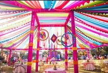 → Indian Wedding Decor Inspiration / Best Inspition for Indian Wedding Mandap, Garba, Chori, Mehndi, Ganesh puja, Haldi / Pithi, Recpetion. With Elephant, peacock and fresh flower themes