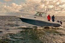 Striper Fishing Boats / Striper boats are known for their ability to withstand all the rigors of big-water fishing, as well as their comfortable, versatile designs that add even more excitement to the fishing experience. http://www.lakeunionsearay.com/Page.aspx/pageId/159791/Striper-Fishing-Boats.aspx