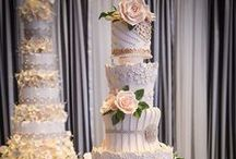 Sugary Sweet Temptations / Pastries, weddingcakes, and other sugar delights you'd find in weddings.