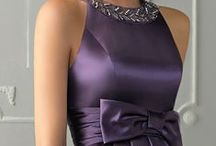 Inspiratie in culori - Violet / Rochii in nuante de lavanda, mov si violet.