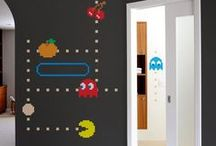 Nerd Home Decor Ideas / A collection of DIY, Geeky, & Nerdy things to make any nerd home fun.