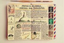 Jornals #Notebooks #Art #Scribbles