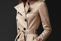 Inspiratie: The Trench Coat / Clasicul pardesiu in culori neutre, elegant si misterios, perfect pentru toamna.