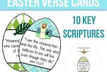 Let's Celebrate Easter! / All Things Easter...decor, crafts, recipes, the true meaning, Jesus, and more!