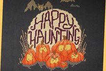 Cross stitch - Halloween / Halloween