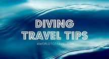Diving Travel Tips