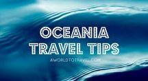Oceania Travel Tips
