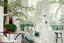 * Florida Room/ Sun Room * / Decorating Ideas for Extended Living Space to Enjoy Breakfast and for Kitties to Bask in the Sun :) / by Debra (angelswhiskers) Creech