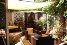 ::Patio Time / Creating a Colorful, Comfortable Patio as an Outdoor Living Space for Entertaining or Just Sitting and Enjoying the Weather / by Debra (angelswhiskers) Creech
