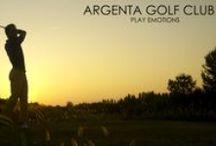 ARGENTA GOLF COURSE / Alcuni scatti dal nostro campo.  A little view of the course.