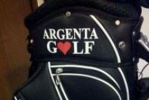 AGC BRAND / I nuovi brand del Golf Argenta girano per il mondo.  Our brands around the world.