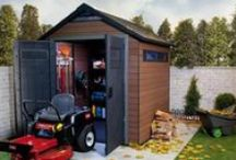 Keter Sheds / Bringing you the most durable, effient and long lasting outdoor storage sheds and boxes - also available on our www.keter.com