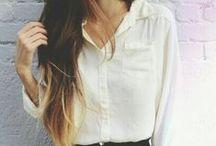 White blouses / white blouse outfit