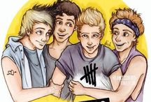 5 seconds of summer / All about the boys that make me happy everyday!❤️☺️ / by Myra Robinson